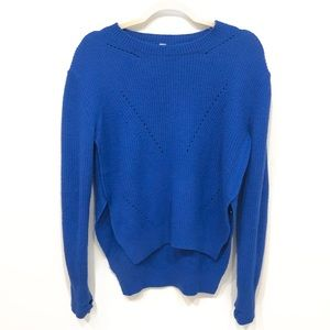 lululemon | Seva Merino Wool Blue Sweater | 6
